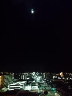 月夜の晩です