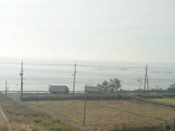 琵琶湖もきれいに晴れてます
