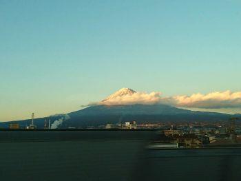 雲がかかっていますがきれいです