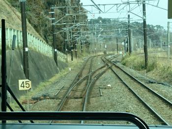 仙石東北ライン分岐かぶり付き