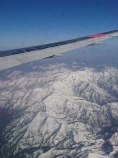 白山もきれいに見えました