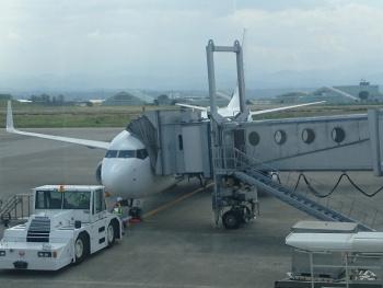 帰りは飛行機