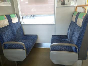 従来の座席