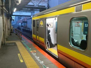 川崎駅より南武線に乗車