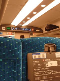 先週に続き新幹線