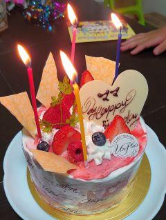 ママお誕生日おめでとう
