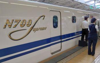 ついにN700Sに乗車