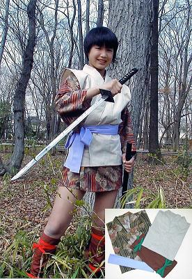 こずえ風(あずみ2)くノ一衣装