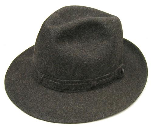 Borsalino つば広中折れ帽