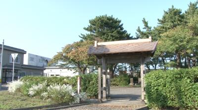 野辺地戦争戦死者の墓所入口