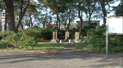 野辺地戦争戦死者の墓所