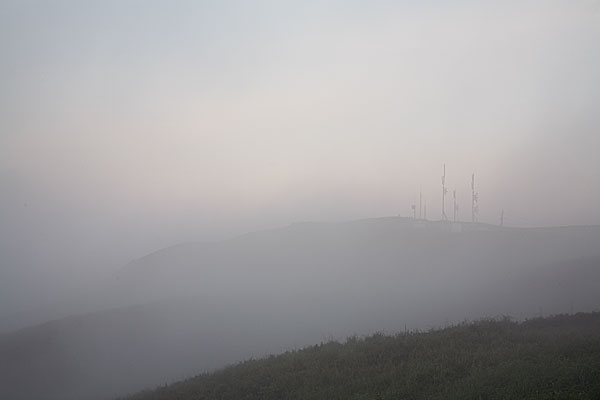 一面霧の中