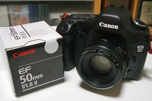 EF 50mm F1.8II