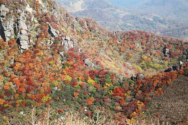 三俣山の紅葉