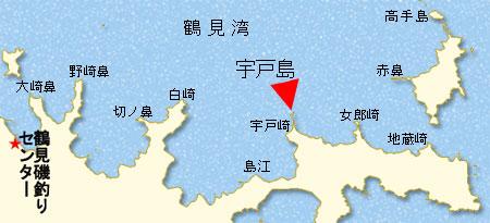 鶴見内湾略図