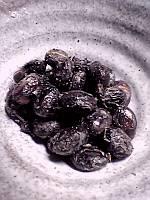 黒大豆の「わら納豆」、完成です