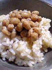 炊き立ての玄米ご飯にのせて〜