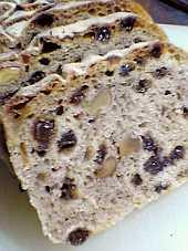 胡桃とカレンツのパン