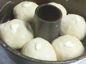 パン焼器に入れ、2次発酵