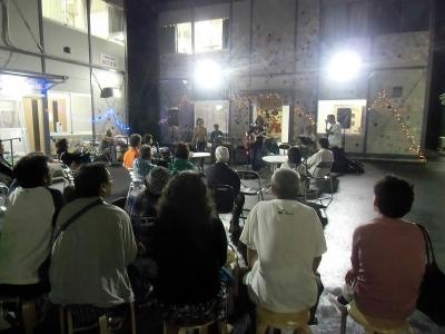 釜石のライブ会場