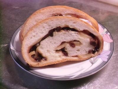 アップル食パン断面