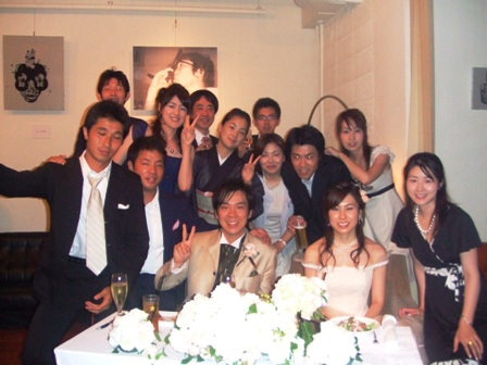 後輩の結婚式