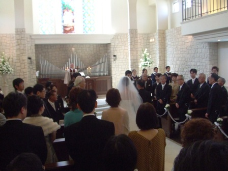 結婚式007