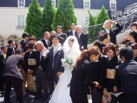 結婚式017