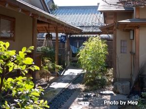 うさぎ屋中庭