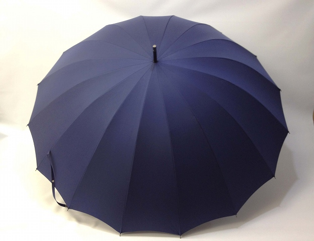 ツインバリア16本骨長傘