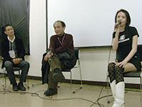 『狂気の海』チームから、高橋洋監督&本田唯一さん