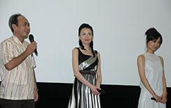 『狂気の海』東京初日舞台挨拶の画像が届きました