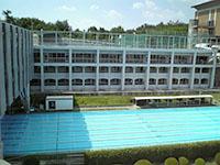 淑徳大学付属高校の50mプール…泳ぎてぇ!