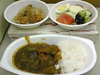 『東京少女』撮影中…夕食はカレー、食事が温かいと嬉しい♪