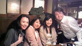 BS-i『東京少女』の打ち上げにて!