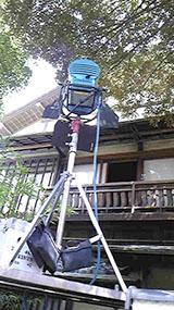 ロケ現場は文京区の趣のある御宅でした