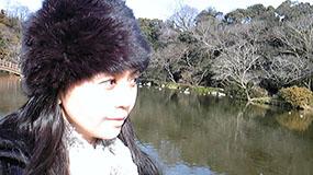 この公園は水源地でもあるのです、水が綺麗!
