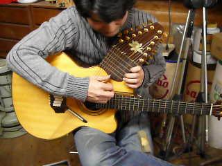 ハープギター by リンダ・マンザ...