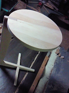 試作サイドテーブル1