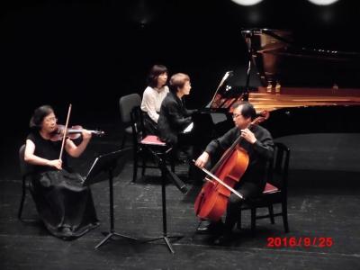 ブラームスピアノ3重奏No1