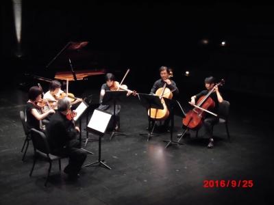 モーツアルトVnとVaのためのコンチェルタンテ弦楽6重奏版