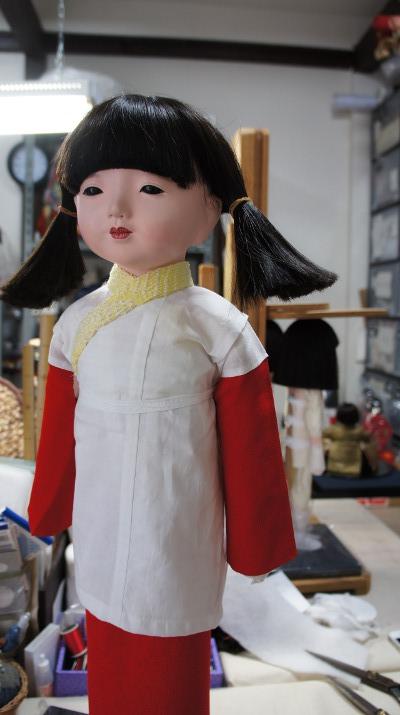 工房朋,市松人形