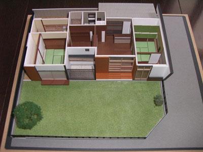 建築模型(住宅模型)家模型