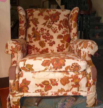 椅子 張替え前