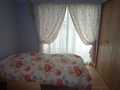 カーテン ベッドカバー