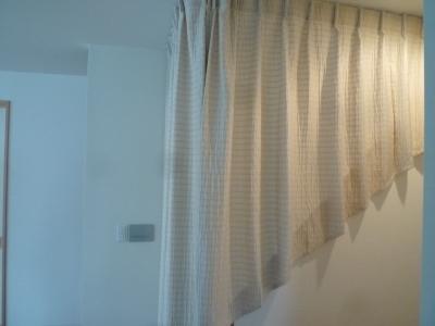リビング階段 寒さ カーテン