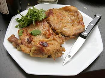 鶏モモ肉の香草マリネード