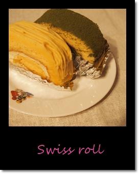 ロールケーキの写真
