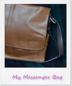 私のメッセンジャー・バッグ