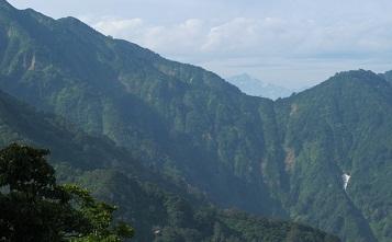 230818栂海新道から剣岳